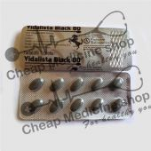 Buy Vidalista Black 80 Mg
