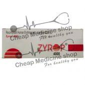 Buy Zyrop 2000 IU 2 ml Injection