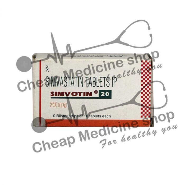 Simvotin ez 10 mg or 10mg for sale