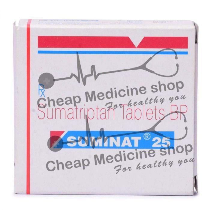 Suminat 25 mg tablets