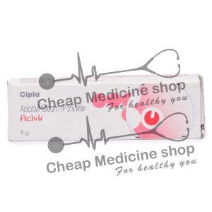 Acivir Cream 5 Gm, Zovirax, Acyclovir