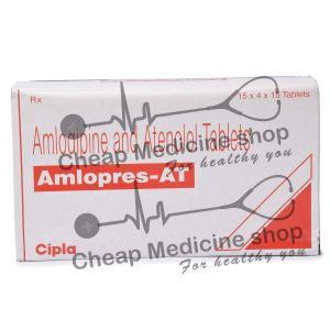 Amlopres AT 5 + 50 Mg, Norvasc Tenormin, Amlodipine Besilate + Atenolol