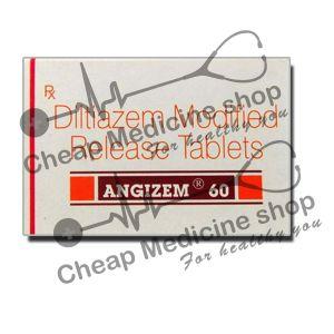 Buy Angizem 60 Mg (Cardizem, Diltiazem)