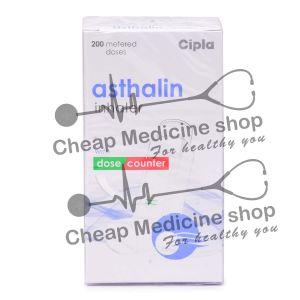 Asthalin HFA Inhaler 100 Mcg (200 mdi), Albuterol, Salbutamol