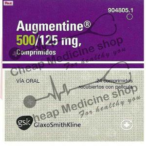 Buy Augmentin  500+125 Mg (Amoxicillin)