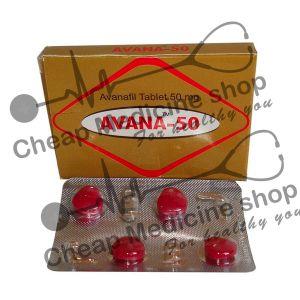 Buy Avana 50 Mg