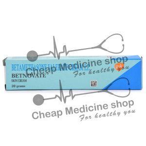 Betnovate 0.10% 20 Gm, Valnac, Betamethasone Valerate