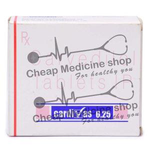 Cardivas 6.25 Mg, Coreg, Carvedilol