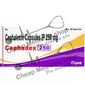 Buy Cephadex 250 Mg Capsule (Keflex)