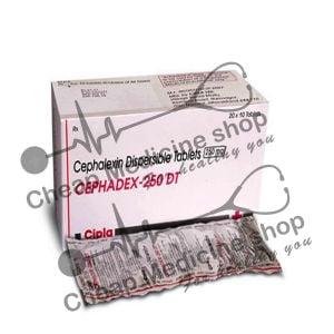 Buy Cephadex 250 Mg Tablet DT