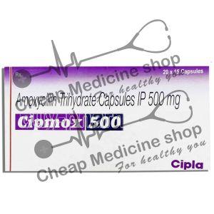 Buy Cipmox 500 Mg (Amoxil, Amoxicillin)