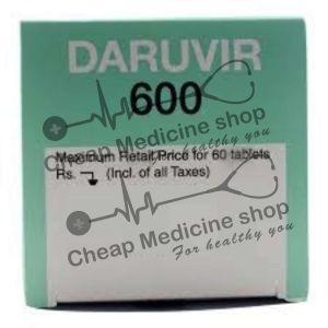 Buy Daruvir 600 Mg Tablet