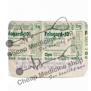 Buy Felogard 10 Mg Tablet ER (Plendil)
