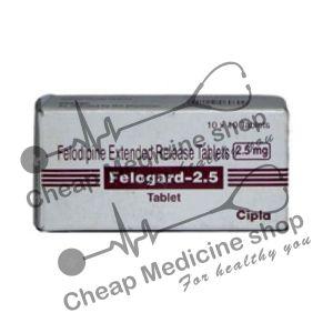 Buy Felogard 5 Mg Tablet ER (Plendil)