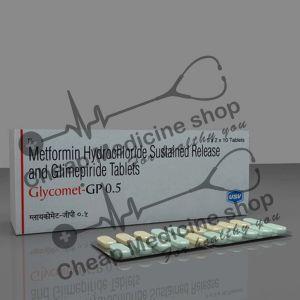 Buy Glycomet-GP 0.5 Tablet