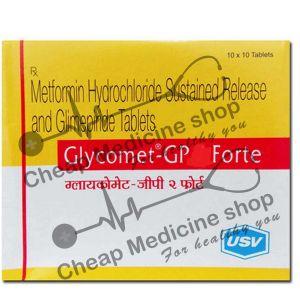 Buy Glycomet-GP 1 Forte Tablet (Glucophage)