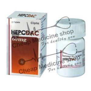 Buy Hepcdac 60 Mg Tablet