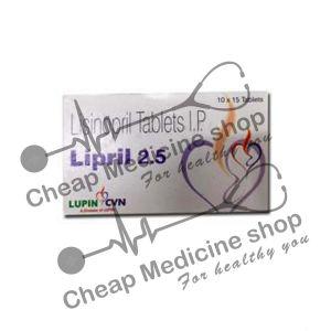 Buy Lipril 2.5 Mg Tablet (Prinivil)