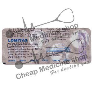 Buy Lomitas 400 Mg (Maxaquin, Lomefloxacin)
