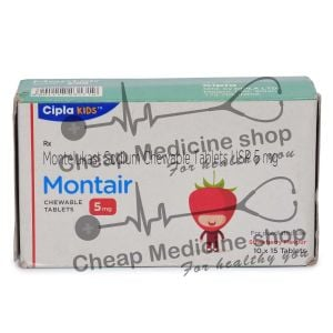 Montair Chewable Tablet 5 Mg