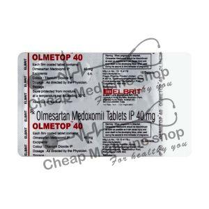 Buy Olmetop 40 Tablet