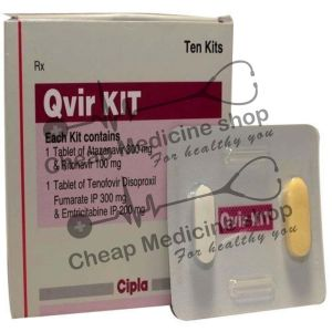 Buy Qvir Kit 300 Mg + 100 Mg + 200 Mg + 300 Mg