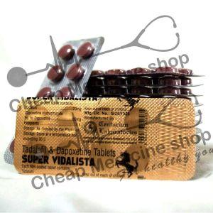 Buy Super Vidalista (Tadalafil + Depoxetine)