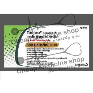 Buy Toujeo 300 u/ml Solostar