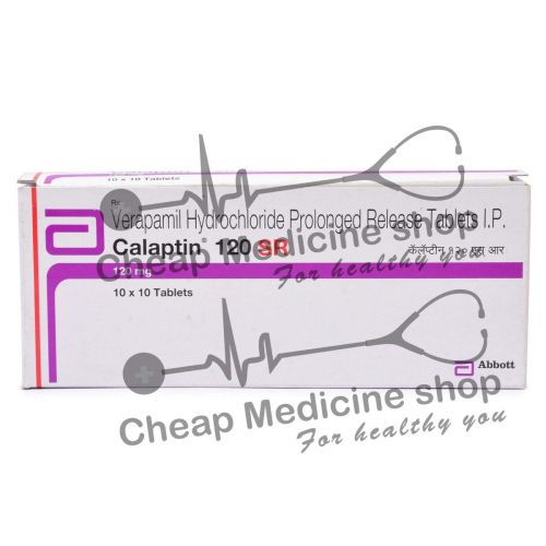 Calaptin SR 120 Mg, Calan SR, Verapamil