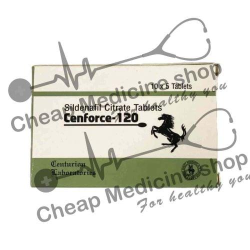 Buy Cenforce 120 Mg (Sildenafil Citrate)