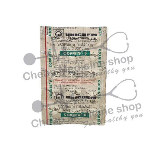 Corbis 5 Mg, Zebeta, Bisoprolol