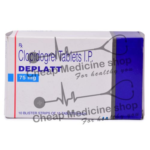 Deplatt 75 Mg, Plavix, Clopidogrel