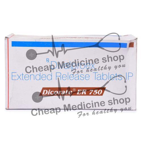 Dicorate ER 750 Mg, Depakote ER, Divalproex