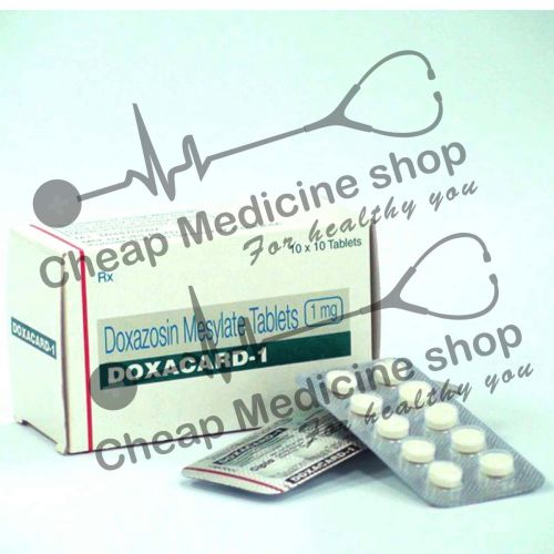 Buy Doxacard 1 Mg (Cardura)