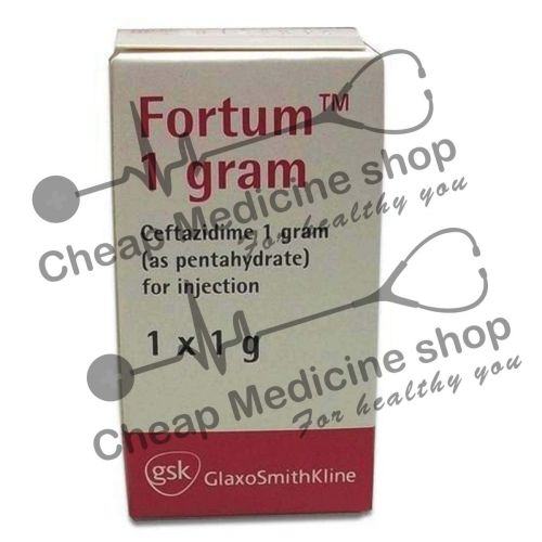Buy Fortum 1 gm (Fortaz, Ceftazidime)