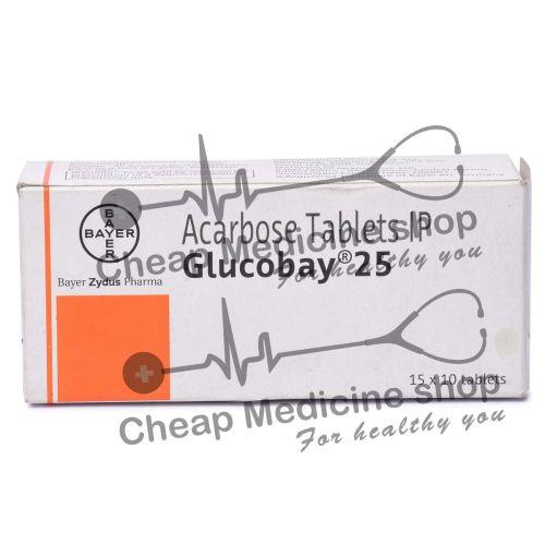 Glucobay 25 Mg, Precose, Acarbose