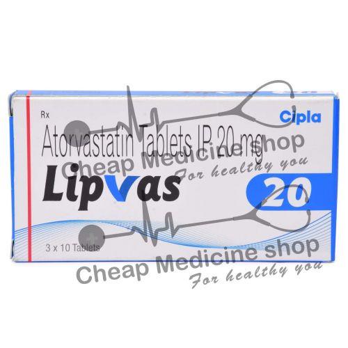 Lipvas 20 Mg