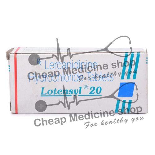 Lotensyl 20 Mg