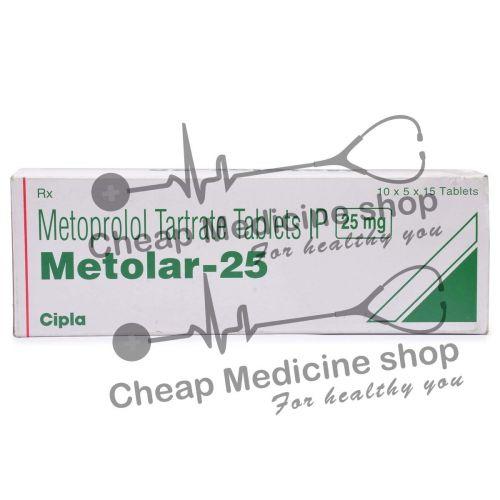 Metolar 25 Mg