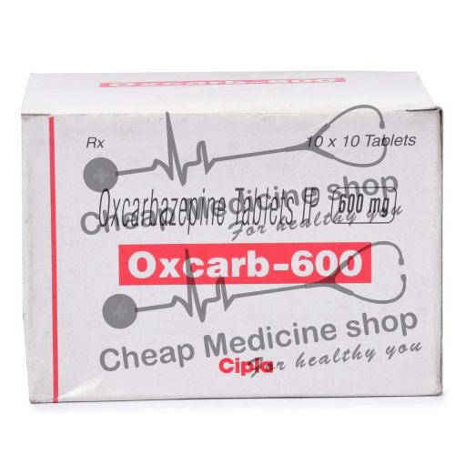 Oxcarb 600 Mg