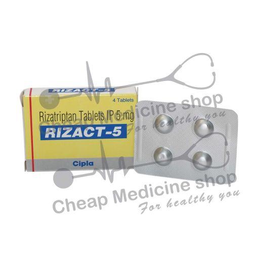 Rizact 5 Mg, Maxalt, Rizatriptan