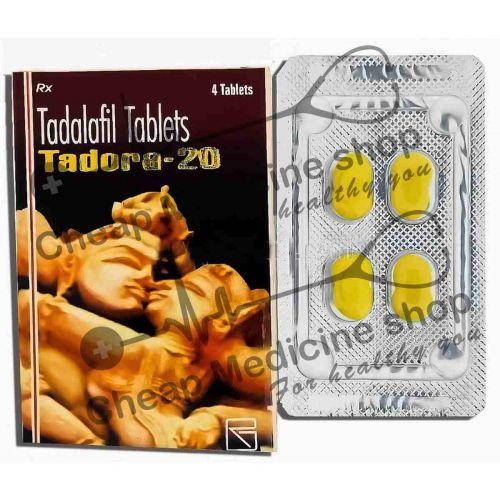 Buy Tadora 20 Mg (Tadalafil)