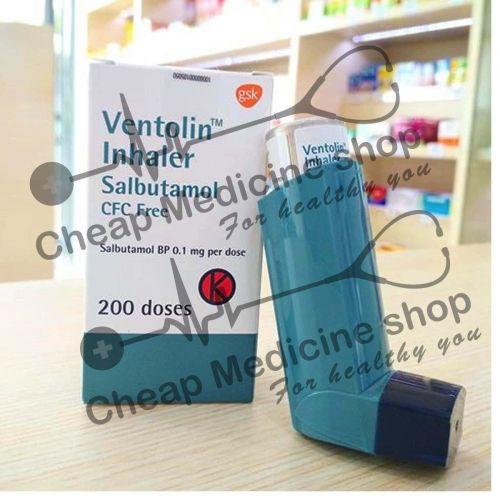 Buy Ventorlin CFC Free Inhaler 100 Mcg/18 Mg