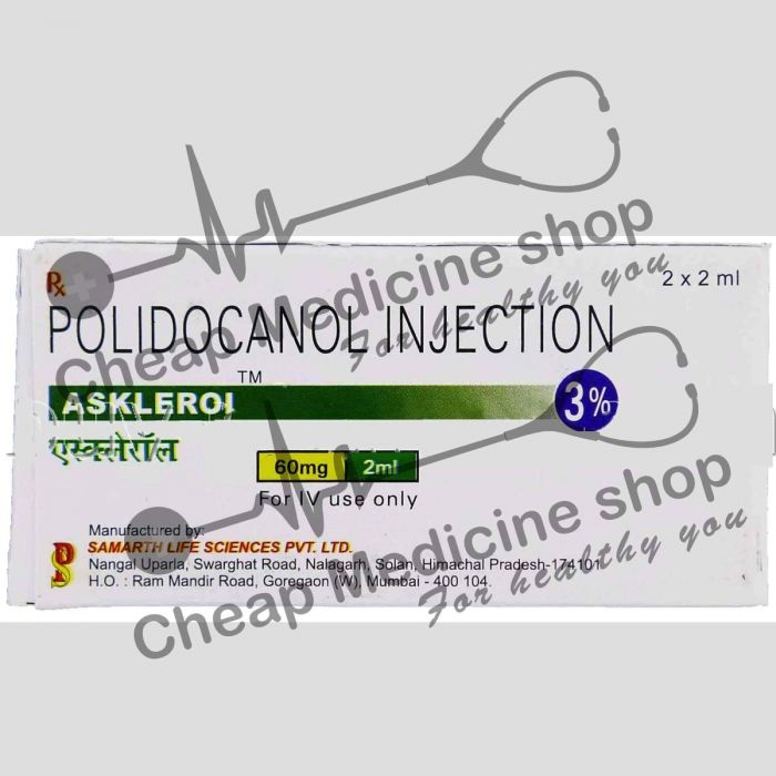 Buy Asklerol Injection 2 ml