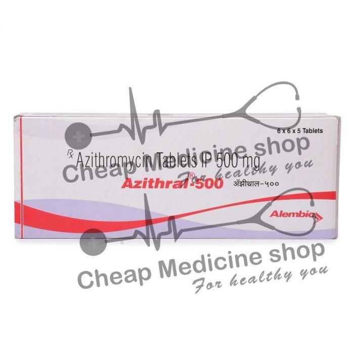 Azithral 500 Mg, Zithromax, Azithromycin