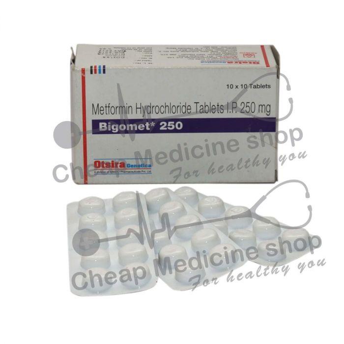 Bigomet 250 Mg, Glucophage, Metformin