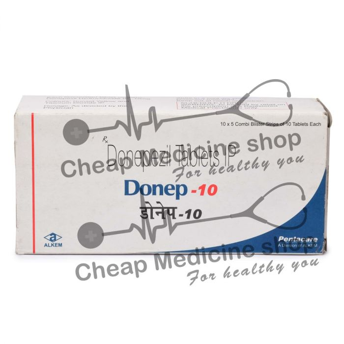 Donep 10 Mg, Aricept, Donepezil