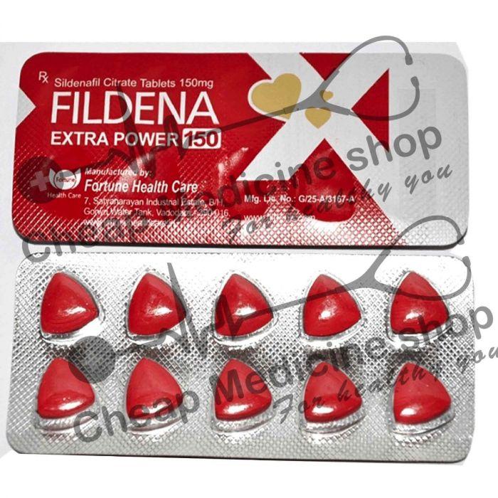 Buy Fildena 150 Mg (Sildenafil)