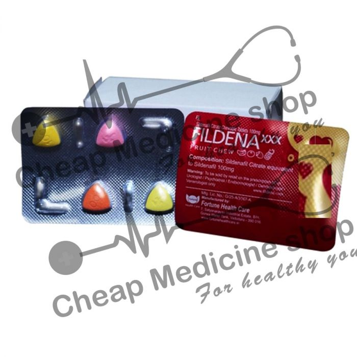 Buy Fildena XXX 100 Mg