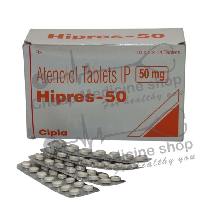 Hipres 50 Mg, Tenormin, Atenolol